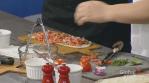Villa Bistro restaurant shows off bruschetta flatbread