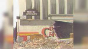 The Cave nightclub bulldozed to make way for downtown Vancouver office tower (02:16)