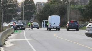 Mission RCMP appeal for witnesses to deadly motorcycle crash (00:35)