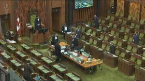 MPs observe minute of silence for 13-year-old Emily Viegas, one of the youngest victims of COVID-19 (01:26)