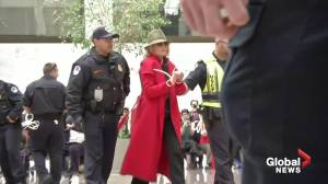 Jane Fonda, Rosanna Arquette arrested in climate protest