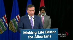 Kenney announces support for Calgary storm victims