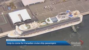 Help on the way for Canadians on quarantined cruise ship in Japan