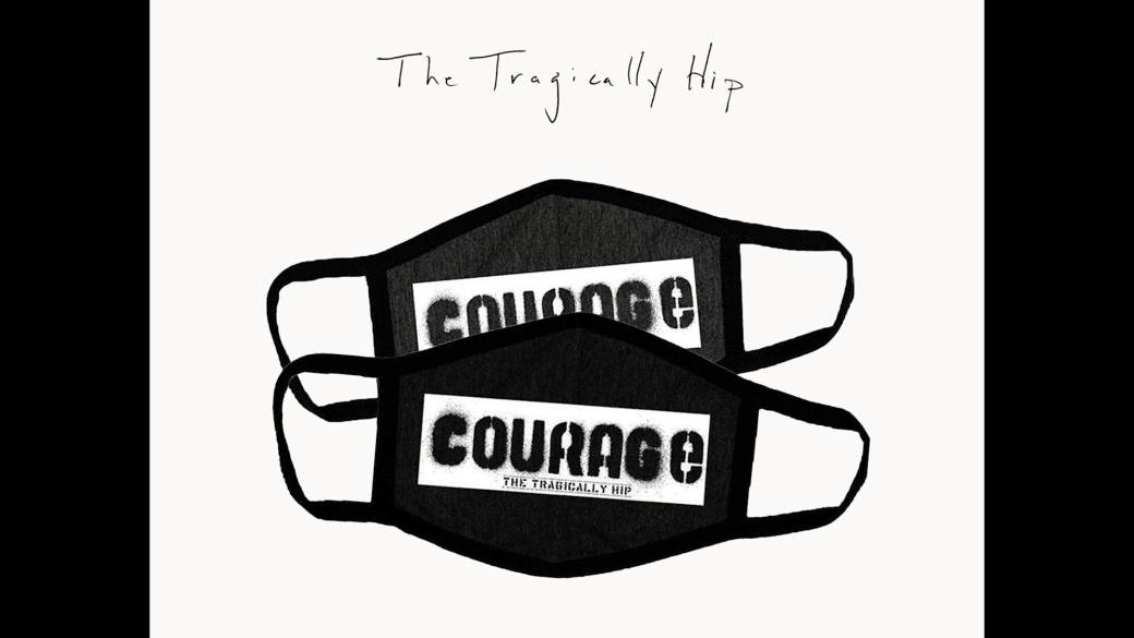 Click to play video 'The Tragically Hip Courage masks proceeds donated to The Unison Benevolent Fund'