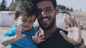 'Being with Refugees' film captures life in a refugee camp (05:57)
