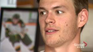 Former Humboldt Bronco Matthieu Gomercic talks about attending his teammates' funerals