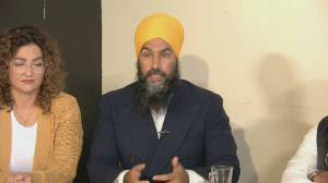 Federal Election 2019: Singh says 'Canadians will have to answer' if Trudeau 'racist'