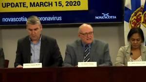 Nova Scotia announces 2 presumptive cases of COVID-19 (02:06)