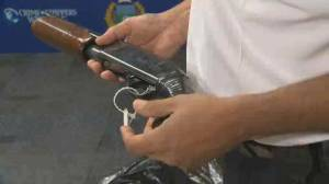 Winnipeg Police help to dispose of unwanted firearms