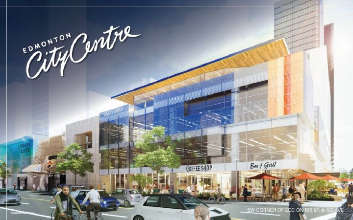 Click to play video: 'Could Edmonton's City Centre Mall be preparing for a makeover?'