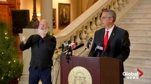 Georgia Secretary of State says 'dishonest actors' misleading president, supporters (01:26)