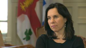 'I don't want citizens to be worried': Montreal Mayor Valerie Plante insists water is safe to drink