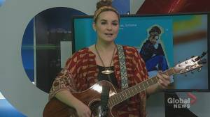 Country Singer Mariya Stokes Performs Her Latest Single