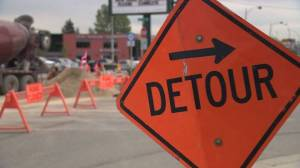 Crowchild construction causing commuter headaches