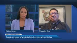 Advocates speak out against province's move to close several youth jails (04:29)
