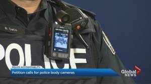 Petition calls for mandatory body-worn cameras by police officers