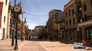 Calgary restricting Stephen Avenue to pedestrian and cycle traffic only