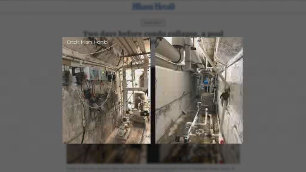 Click to play video: 'New photos show Florida condo's deterioration days before collapse'