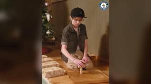 Salmon Arm boy enters Guinness World Records by balancing Jenga blocks (00:44)
