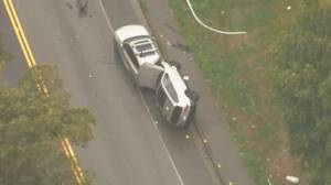 Two students killed as driver veers off-road near UBC (02:08)