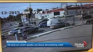 Hit-and-run victim speaks out about devastating crash