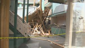 Hotel roof collapses up at Kelowna's Big White