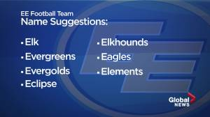 Elk or Eagles? 7 possible names for Edmonton Football Team released (03:37)