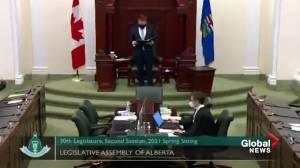 Alberta MLAs returning to legislature for spring session (01:53)