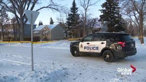 Homicide detectives investigate suspicious death in central Edmonton (01:40)