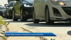 Study finds workers stressed by long commutes
