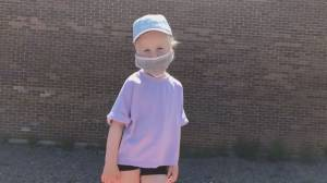 Mask On: Local dad makes fun mask wearing video with his kids