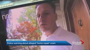 Toronto police warning about alleged 'home repair' scam