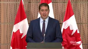 Coronavirus: Scheer says kick-starting Canadian economy will take more than just reopening provinces (00:43)