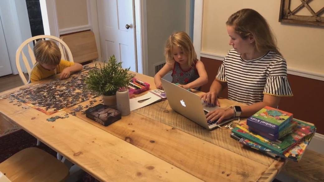 Click to play video: 'New study shows working from home will be permanent for many employees'