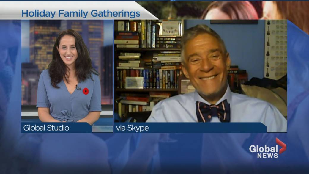 Click to play video 'Can we safely host family gatherings over the holidays this year?'