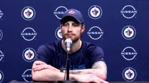 RAW: Winnipeg Jets Laurent Brossoit Interview – Feb. 19 (02:28)