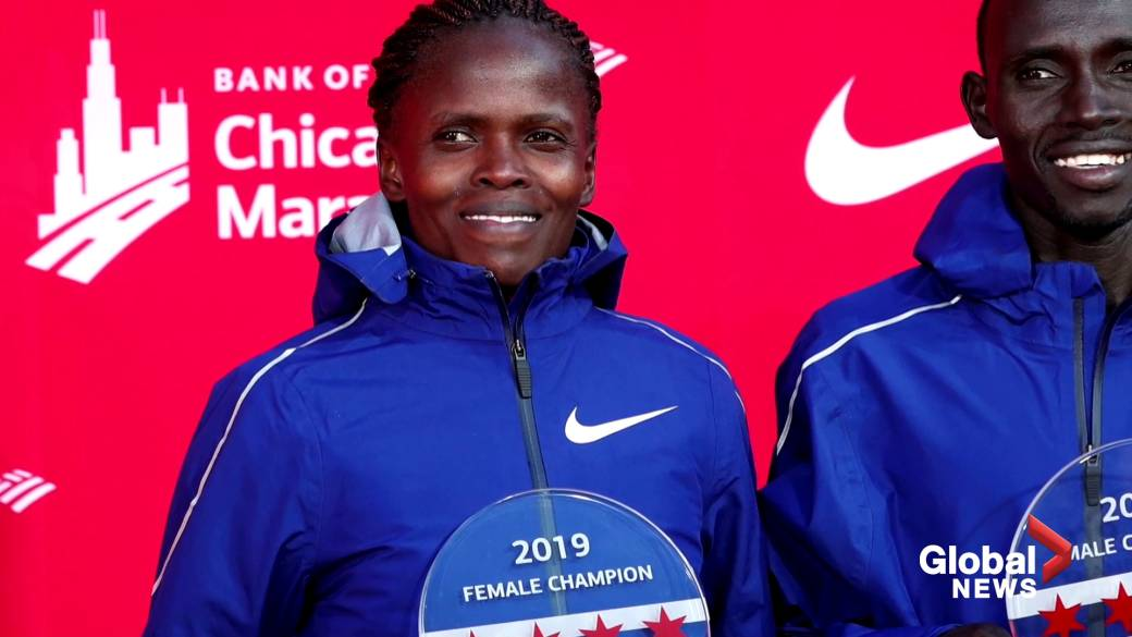 After achieving a world record run, Kosgei believes women can go even faster