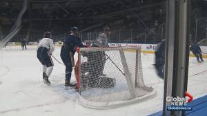 Oilers get ready to face Preds on Saturday