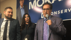 Federal Election 2019: Marty Morantz thanks supporters on Election Night