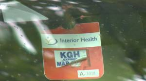 Healthcare staff in Kelowna advised to hide Interior Health parking passes when out in community to avoid being targeted by anti-vaccine protestors. (01:33)
