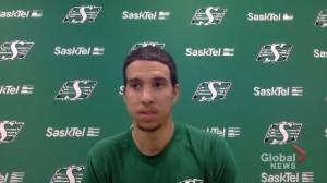 Riders' Justin McInnis will have motivation in the stands on Saturday (01:43)