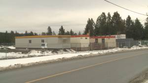 New temporary homeless shelter in West Kelowna (01:31)