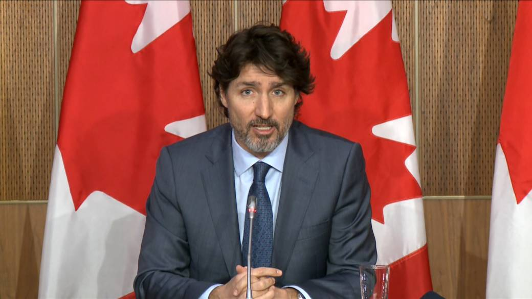 Click to play video 'Trudeau announces $518 million to support innovation and research in Canada'