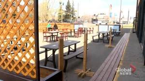 Alberta restauranteurs hope for reimbursement in light of patio ban (01:58)