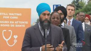 Federal Election 2019: Singh says he's 'open to' improving access to medically-assisted death