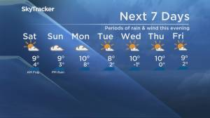 B.C. evening weather forecast: Nov. 27 (02:12)