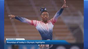 Simone Biles makes a comeback after taking a break to focus on her mental health (03:39)