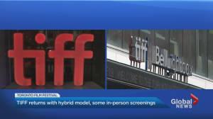 TIFF kicks off in Toronto with COVID-19 modifications (02:13)