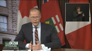 Coronavirus: Data suggests COVID-19 variants likely to dominate March cases in Ontario (00:55)