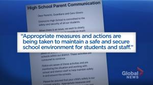 Parents of high school students warned about threats and online bullying